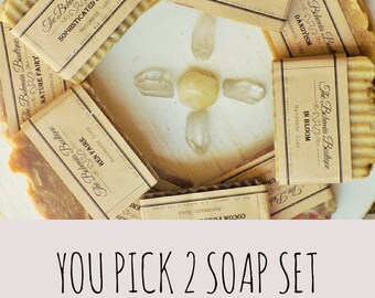 Soap gift Set - Handmade Soap  - Artisan Soap  - Homemade Soap - Vegan Soap - Natural Soap - Handcrafted soap