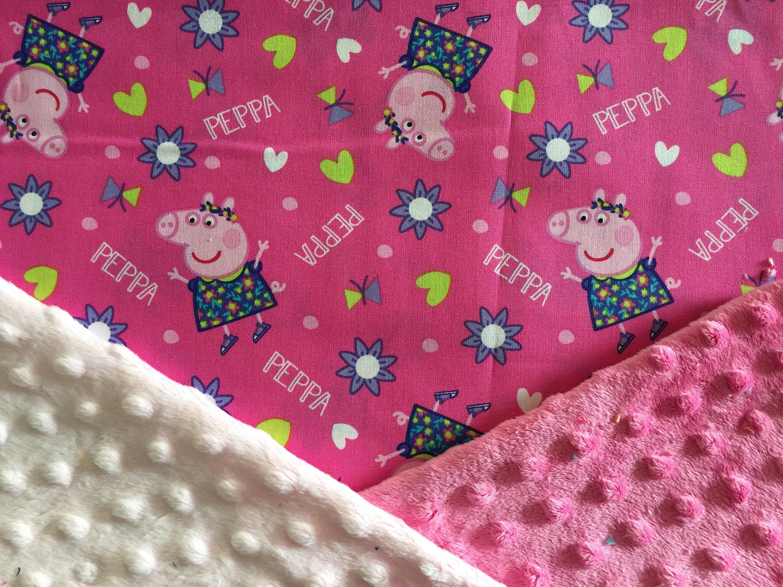 Peppa Pig Snuggle Blanket Personlised