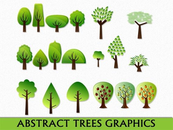 Tree Image Abstract Clip Art