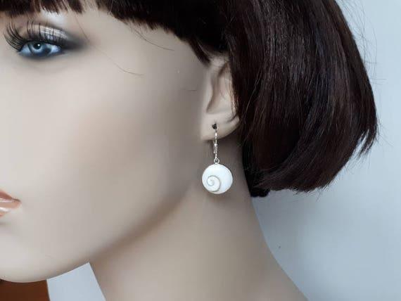 Shiva Eye in 925 Sterling Silber Ohrringe Haken Hebel zurück | Etsy