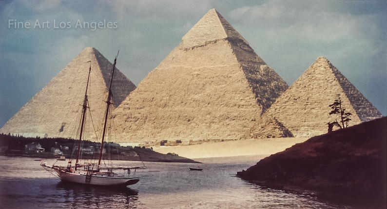 11x18 image Andrew Reichline Photo Port Giza composite Egypt Maine