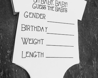 Guess The Baby Baby Guessing Game For Expectant Parents Babyhunch