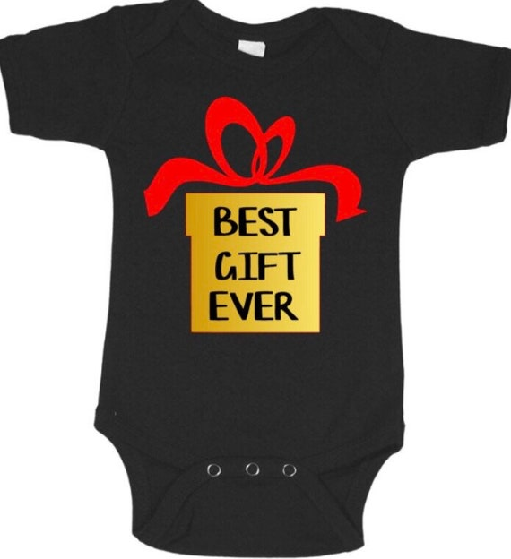 7ee3a67dd Best gift ever baby onesie christmas costume cute adorable | Etsy