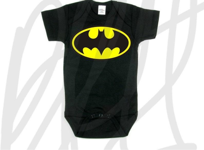 6d1eebbd5 Batman or Robin superhero onesie bodysuit creeper and tshirts | Etsy