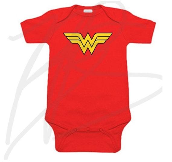 613b7952c DC Comics superhero bodusuit onesie creeper and childrens | Etsy