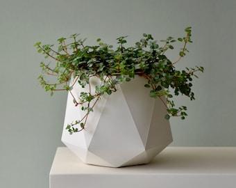 HORTUM 10ø   Concrete Planter - Plant Pot - Diameter 10cm  (4 inch)