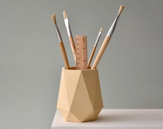 HORTUM DESK | Pen holder - Pencil holder - Desk Organiser - Home Office decor