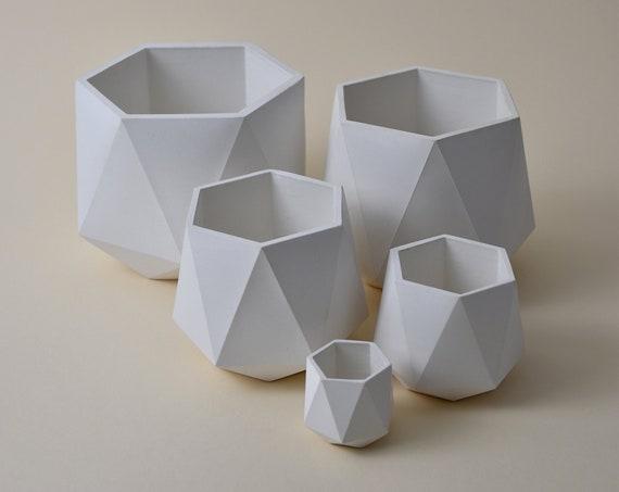 HORTUM FIVE | Set of 5 Concrete planters - Plant Pot