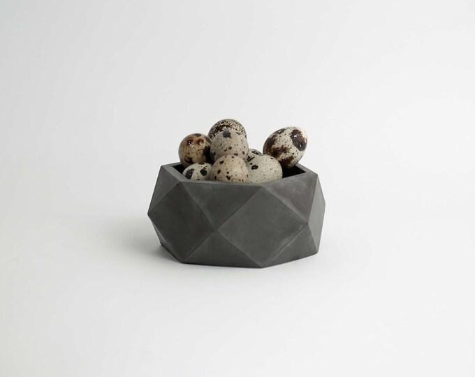 ORE | Charcoal Concrete Pot - Succulent planter