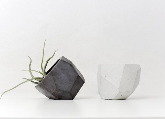 TOBI | Concrete Pot - Vase - Planter