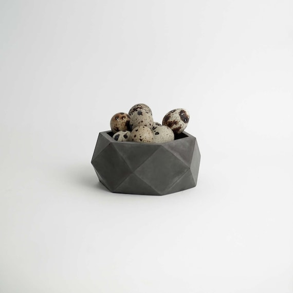 ORE | Charcoal Concrete Pot - Succulent planter