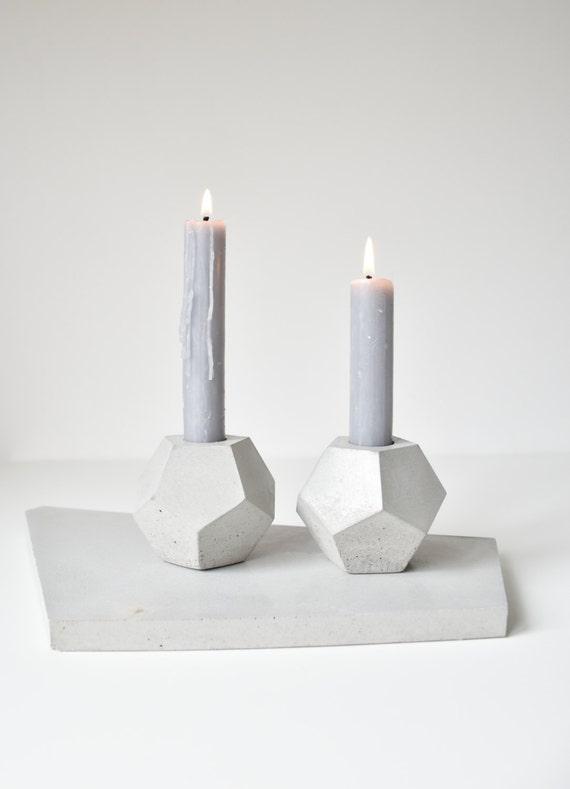 GEOMETRICA | Concrete Planter - Candle Holder