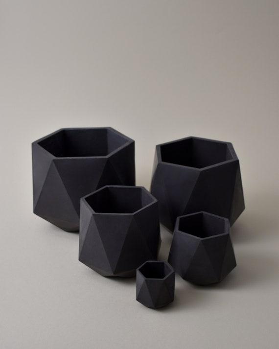 HORTUM FIVE | Set of 5 Concrete planters - Plant Pot