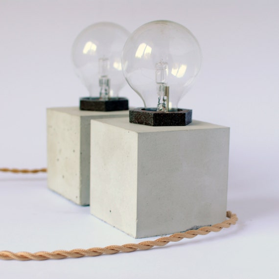 CUBUS | Concrete Table Lamp