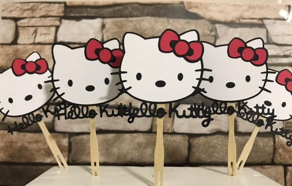Strange 12 Hello Kitty Cupcake Toppers Hello Kitty Cupcake Toppers Kitty Cupcake Toppers Hello Kitty Kitten Cupcake Toppers Alphanode Cool Chair Designs And Ideas Alphanodeonline