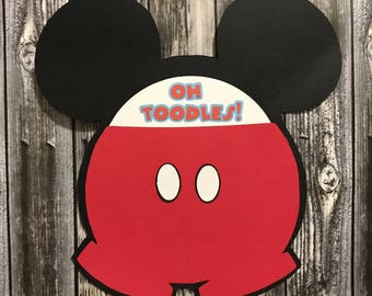12 Mickey Mouse Party Invitations, Mickey Mouse Invitations, Mickey Mouse Invitations, Mickey Mouse, Party Invitations, Birthday Invitations