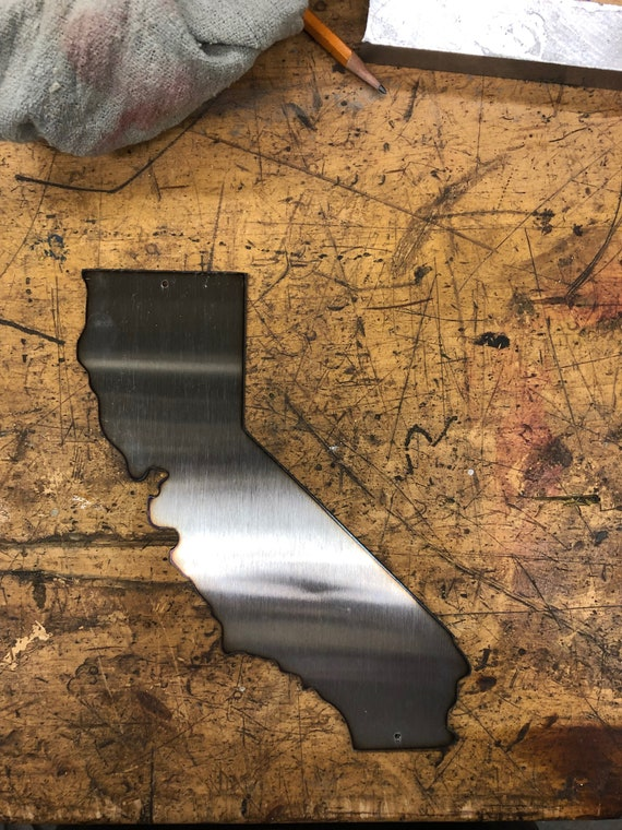 Indiana Home Steel Cutout Decorative Metal Wall Sculpture Art Hanging Decor