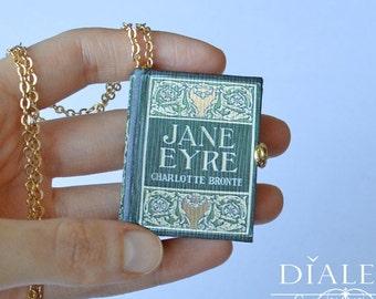 Custom Miniature Book Charm - 'Jane Eyre'