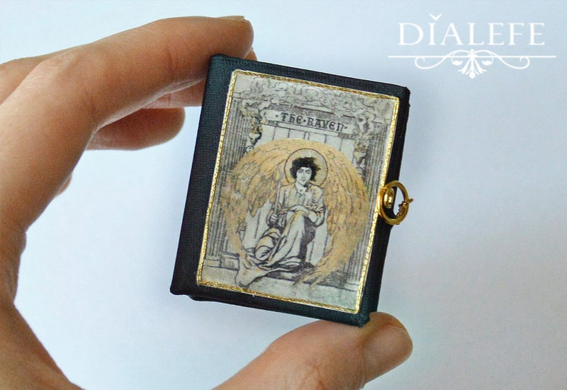 Miniature Book  'The Raven' image 0