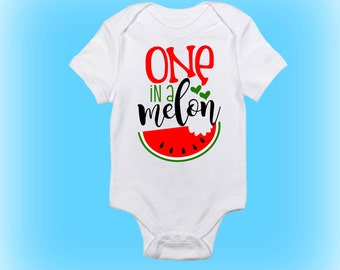 Cute Baby Onesie - New Baby Gift Idea - Gift for New Baby - One in a Melon Onesie® - Baby Boy - Baby Girl - Baby Clothing - Baby Onesie