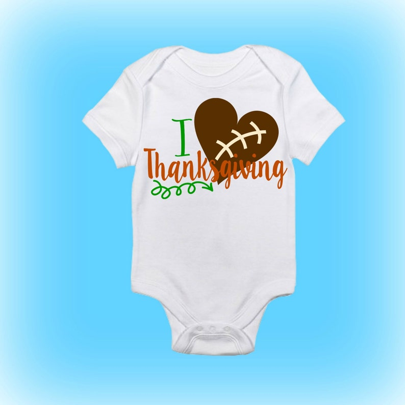 Baby Onesie Football Onesie Baby Clothing Baby Girl Unique Baby Shower Gift First Thanksgiving Onesie Baby Gift Idea Baby Boy