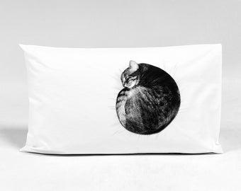Cat Nap Pillowcase