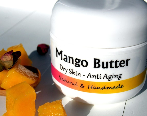 Anti Wrinkle / Anti Aging - Face Moisturizer - also Beneficial for Eczema & Psoriasis skin / Natural remedy - Handmade Skin Care