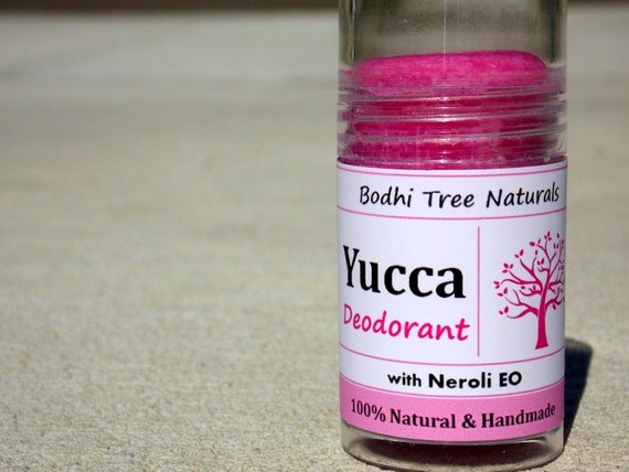 Handmade Natural Deodorant with Organic Yucca Root Infused Organic Coconut oil - SkinCare