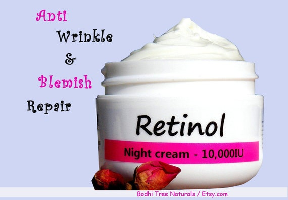 with Retinyl Palmitate _ Anti Aging Wrinkle cream non GMO _ Natural Handmade SkinCare