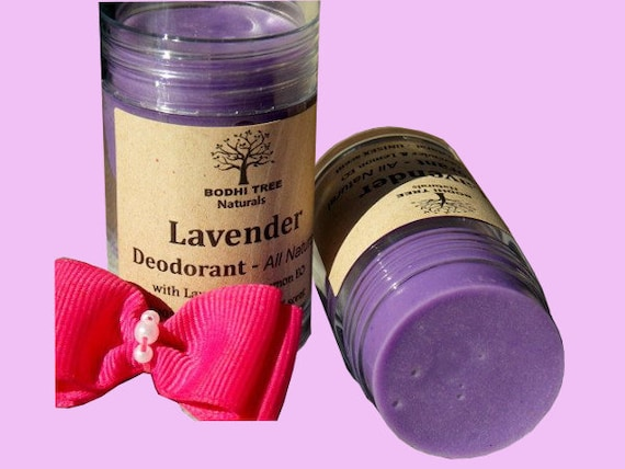 Natural Deodorant/Lavender Deo with Infused oils & Essential oils/ Natural Handmade skin care