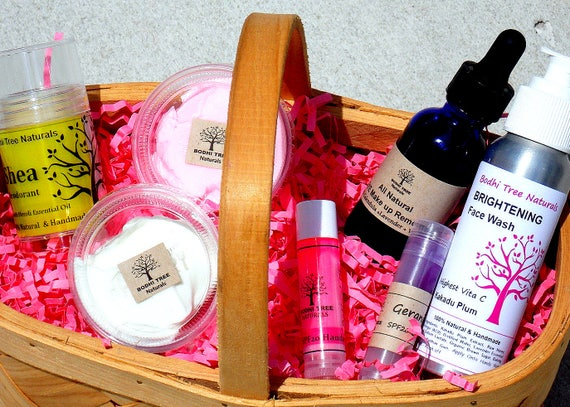 Special - Natural Skin Care Gift set - Gift kit - Sampler kit - 7 piece kit - Skincare - Handmade Skin Care