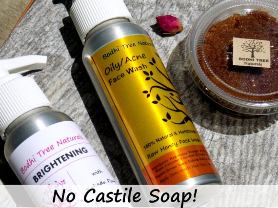 SAMPLES /Natural Skin Care /samples of Any of my Face wash/Scrubs/Mask