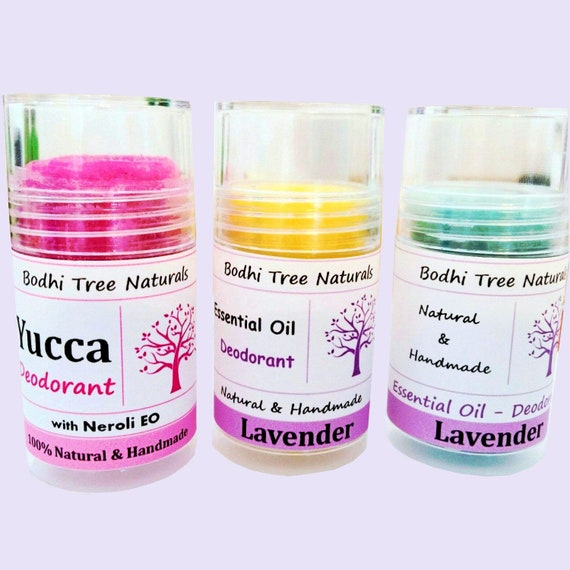 Women's Natural Deodorant / Handmade Deo with Essential oils / Aluminum Free / Natural Handmade SkinCare