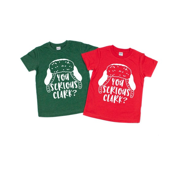 Baby Christmas Vacation Griswold Movie Red Toddler T-Shirt You Serious Clark