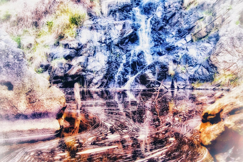 Moving Reflections calming sounds of a gentle waterfall image 0
