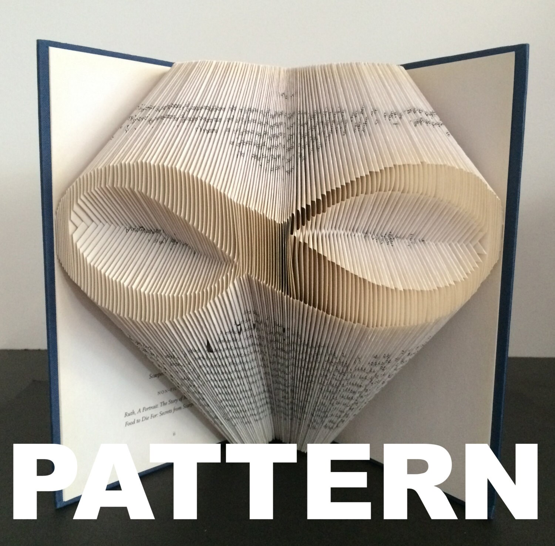 Book Folding Pattern Symbol - Infinity Symbol Pattern + Free Instructions 465988