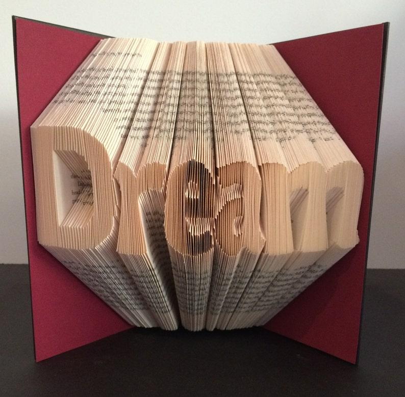 Book Folding Pattern - Dream + Free Instructions