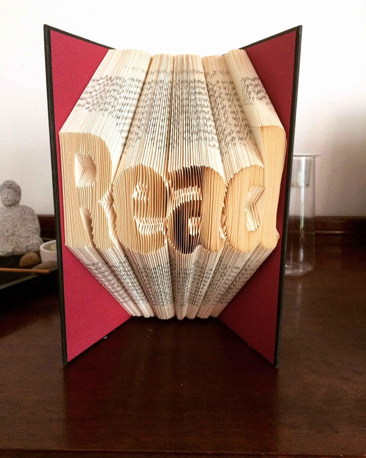 Book Folding Pattern - Read + Free Instructions Instructions Free - Book, Birthday, Home Decor 47f4c4