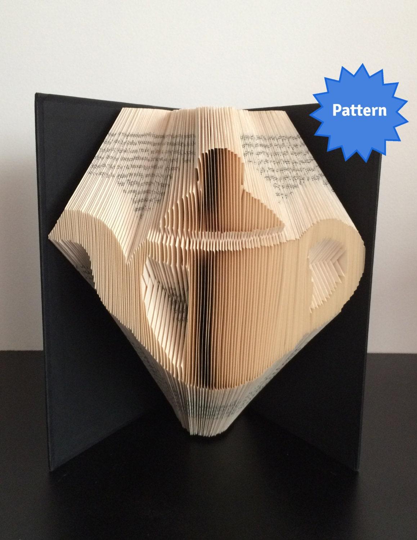 Book Folding Pattern - Teapot + Free Instructions - Kitchen Birthday, Kitchen - Tea, Engagement bbdc61