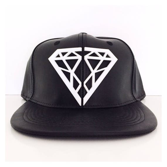 3D Diamond Acrylic Snapback  8389f3d3047