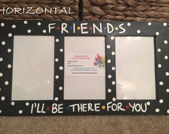 Friends Tv Show Frame Etsy