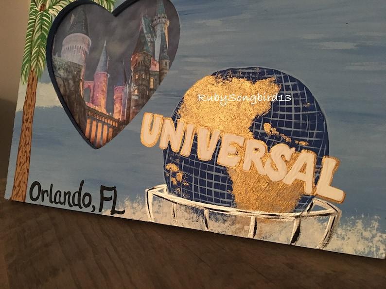 Universal Studios Orlando Resort Picture Frame Heart Shaped Picture Frame Universal Orlando Proposals Vacations Travel Destination Frame