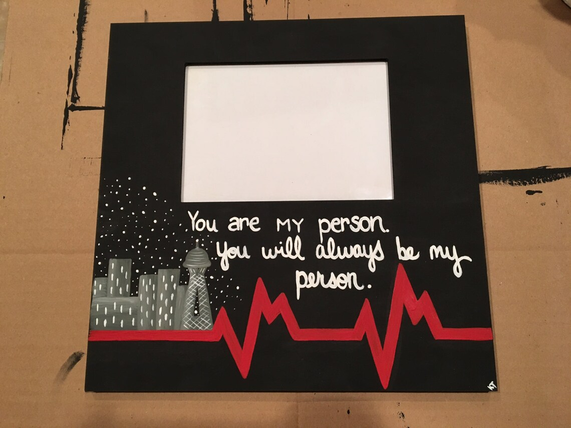 Youre My Person You Are My Person Greys Anatomy Etsy