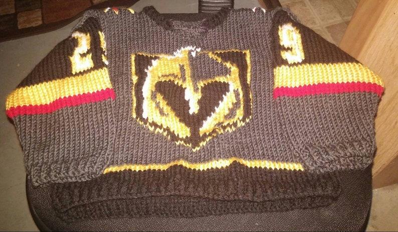 more photos c26de 4344f Jersey replica nhl hockey vegas golden knights fleury #29 toddler 2 years