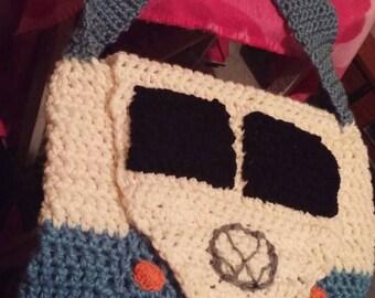 """Shoulder bag style Volkswagen van size 16 """"square"""