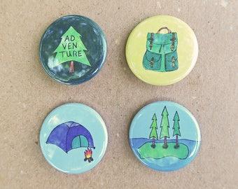 Camping pins