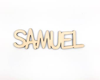 custom wreath wooden name or word, DIY wreath making supplies, DIY paint night supplies, Paint Party sign supplies