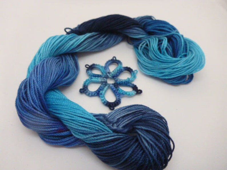 Mettler Fine Embroidery Thread 0669 Blue 220 yards