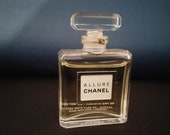 Vintage Allure Chanel Glass Bottle Rare Miniature 80 39 s Dummy Shop Display Perfume Sealed Advertising