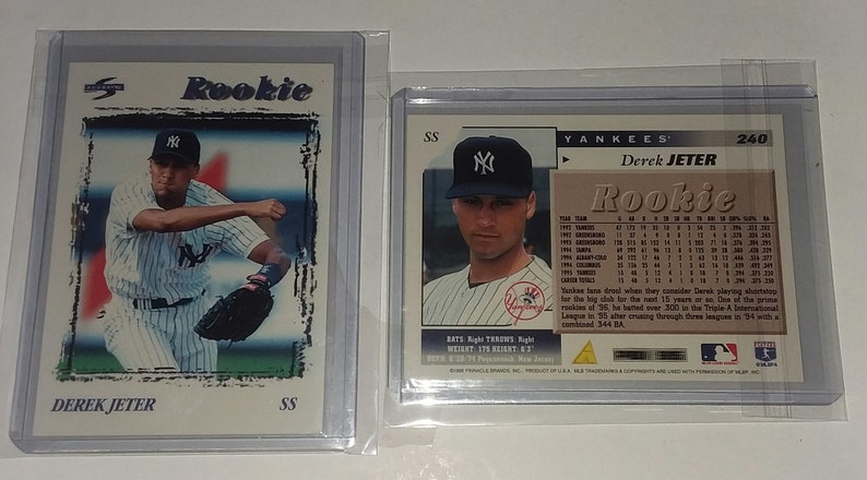 Derek Jeter 1996 Score Sp Debut Baseball Card 240
